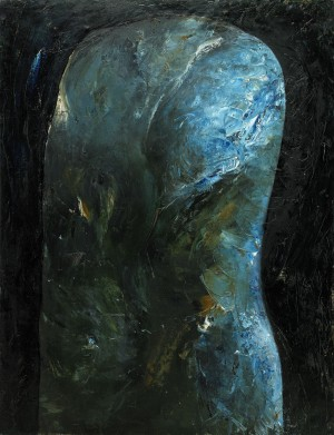 Blå Torso by Claes EKLUNDH