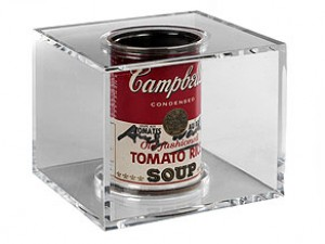 Campbell's Tomato Rice Soup Can, 20.11.1971 by Andy WARHOL
