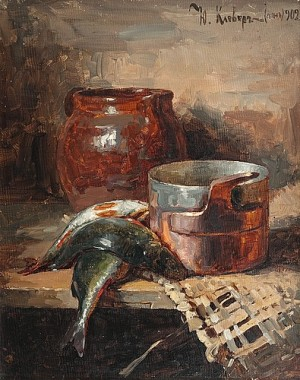 Still Life by Julij Julevic The Younger KLEVER