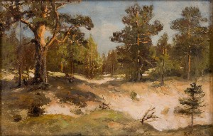 Forest Landscape by Karl Ioganovich ROSEN