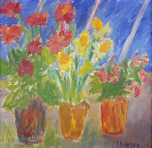 Blomsterstilleben by Ivan IVARSON