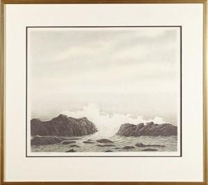 Våg I Bretagne by Mikael KIHLMAN