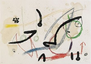 From The Series, Maravillas Con Variationes Acrosticas by Joan MIRO