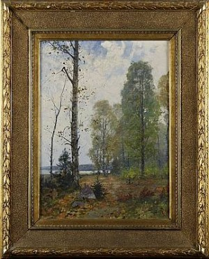 Skogsglänta by Wilhelm BEHM