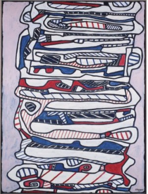 Escalier Viii, 28 Avril by Jean DUBUFFET