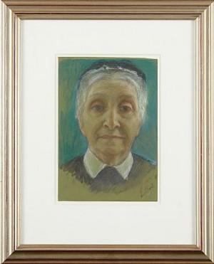 Porträtt Av Pauline Pauli (född Meyerson) by Hanna PAULI