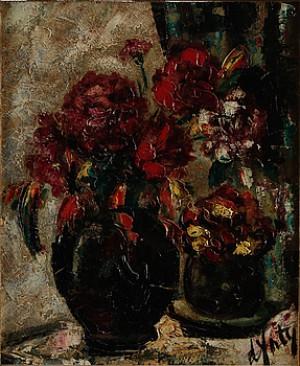 Blomsterstilleben by Henri D'ANTY