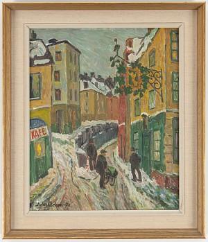 Motiv Från Gamla Stan, Stockholm, Gyldene Freden by John CARLSON