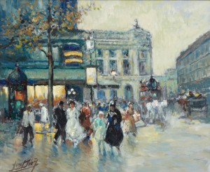 Paris, Les Boulevards by Yves DIEY