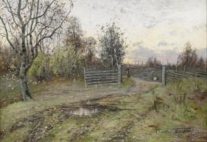 Landskap by Charlotte WAHLSTRÖM