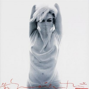 Marilyn Arabian. Stämplad På Baksidan Och Daterad 2008. Pigment Print, by Bert STERN