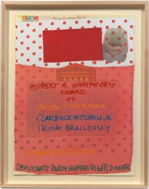 Democratic Human Rights Dinner by Robert RAUSCHENBERG