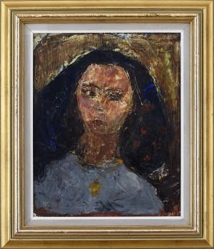 Porträtt Av Kvinna by Bernt RINGQVIST