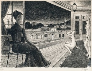 Devant La Ville by Paul DELVAUX
