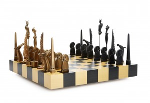 Schackspel by Paul WUNDERLICH