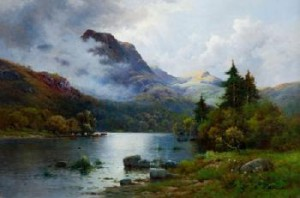 Ben Venue And The Trossachs, Scotland by Alfred Fontville De The Younger BREANSKI