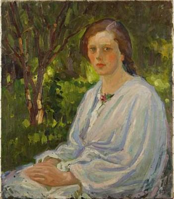 Vadstena Flicka 1915 by Sigge BERGSTRÖM