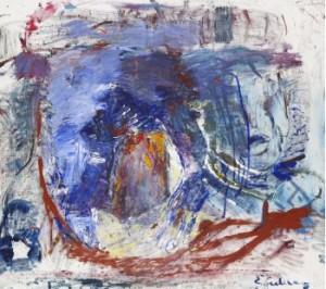 Komposition I Blått by Erland CULLBERG