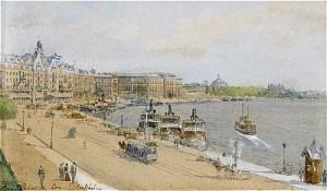 Utsikt Mot Grand Hotel, Nationalmuseum Och Skeppsholmen by Anna PALM DE ROSA