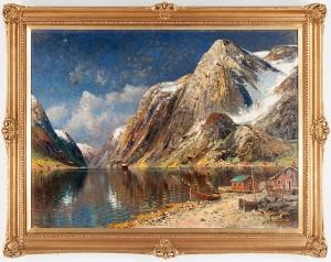Fjordmotiv by Karl KAUFMANN