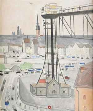 Den Gamla Katarinahissen - Stockholm by Einar JOLIN