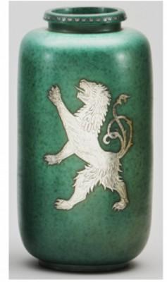 Argenta Vase by Wilhelm KÅGE