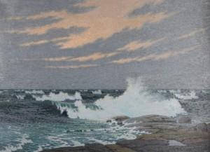 Bränningar, Hallnäs by Olof THUNMAN