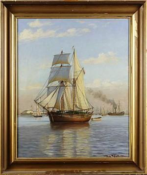 Motiv Från Langelinie, Köpenhamn by Johan Jens NEUMANN