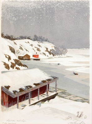 Högvinter, Tornö, Möja by Roland SVENSSON