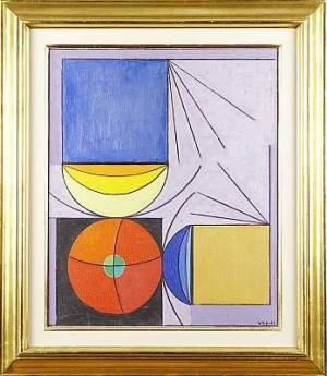 Komposition by Vilhelm BJERKE-PETERSEN