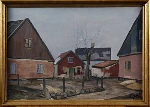 Motiv Från Hällestad by Emil 'E. J-Thor' JOHANSON-THOR