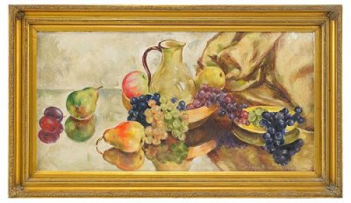 Still Life With Fruit by Georges Anatolievich POGEDAIEFF