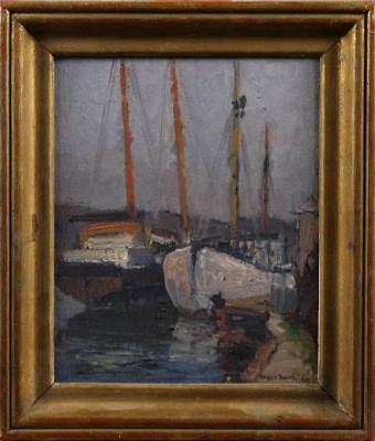 Båtar I Hamnen by Signe BARTH