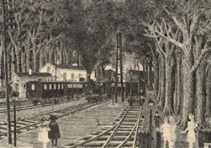 La Gare Forestière by Paul DELVAUX
