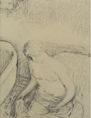 Jeune Femme à Sa Toilette by Pierre BONNARD