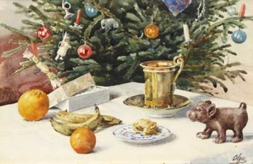 Fra Min Julestue 1932 by Olga Grand Duchess ALEXANDROVNA