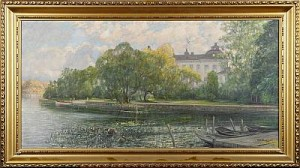 Drottningholm by Carl August OLAUSSON
