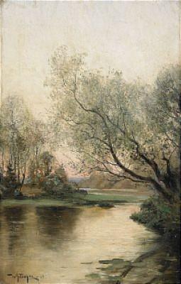 Landskap I Skymning by Wilhelm BEHM