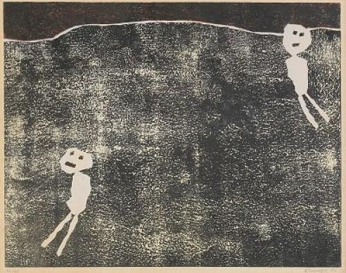 Les Loisirs by Jean DUBUFFET