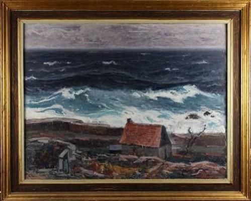 Stormigt Hav by Oskar HULLGREN