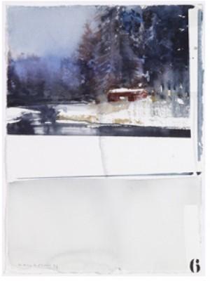 Landskap I Vinterskrud by Lars LERIN