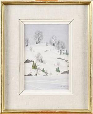 Vintermotiv by Oskar BERGMAN