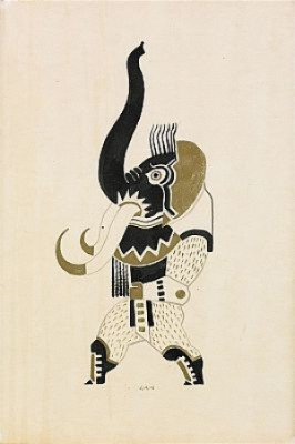 Elefantman by Gösta 'Gan' ADRIAN-NILSSON
