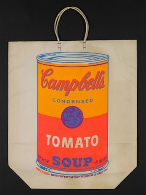 Campbell's Soup Can (tomato) Paper Bag by Andy WARHOL