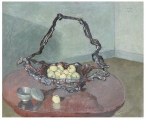 Stilleben Med äpplen I Skål by Einar JOLIN