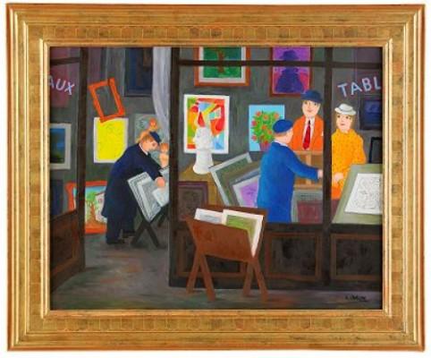 Konsthandeln by Lennart JIRLOW