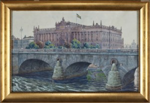 Riksdagshuset, Stockholm by Gunnar WIDFORSS