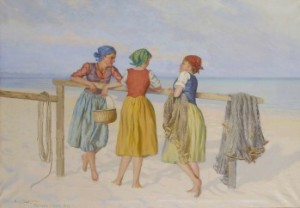 Tre Flickor by Emil LINDGREN