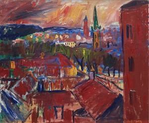 Utsikt Från Rialto, Göteborg by Ivan IVARSON