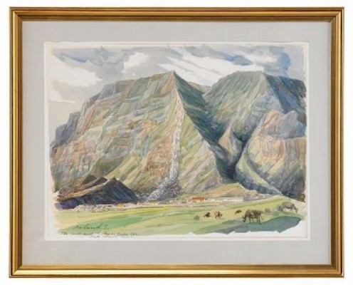 The Settlement, Tristan Da Cunha by Roland SVENSSON